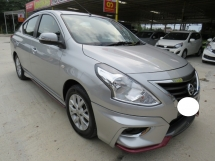 2017 NISSAN ALMERA 1.5 (A) VL One Owner Full Nismo Bodykit Leather Seat CD DVD Navi Push Start Keyless Accident Free High Loan Tip Top Condition Must View