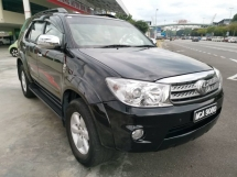 2011 TOYOTA FORTUNER 2.7 V (A) - One Lady Owner