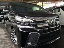 2015 TOYOTA VELLFIRE 3.5Z G EDITION High Spec