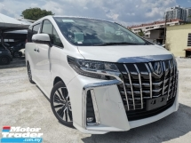 2018 TOYOTA ALPHARD 2.5 SC FULL SPEC SUNROOF/DIGITAL INNER MIRROR UNREG