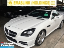 2015 MERCEDES-BENZ SLK SLK200 CONVERTIBLE AMG SPEC TURBOCHARGED 9 SPEED