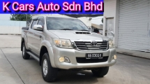 2012 TOYOTA HILUX DOUBLE CAB 3.0G (AT) (Actual Year) Zero Processing Car Keep In Good Condition No Off Road Drive Worth Buy