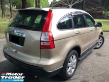 2008 HONDA CR-V 2.0 i-VTEC (A) MODULO LEATHER LIMITED