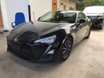 2015 TOYOTA 86 2.0 GT NO HIDDEN CHARGES SST INCLUSIVE