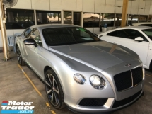 2015 BENTLEY CONTINENTAL GT SPEED  GT 4.0 S V8 COUPE MULLINER NAIM SOUND SYSTEM