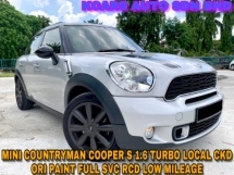 2014 MINI Cooper S 1.6 COUNTRYMAN FREE WARRANTY