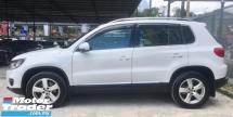 2014 VOLKSWAGEN TIGUAN 2.0 TSI SUV(TRUE YEAR MAKE)(UNDER WARRANTY)(FULL SERVICE RECOND)(LOW MILEAGE)(ONE OWNER)
