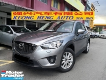 2013 MAZDA CX-5 2.0 2WD SkyActivG FREE 2 YRS WARRANTY TRUE YEAR MADE 2013 CKD Low Processing Fee