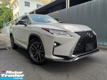 2018 LEXUS RX300 2.0 F SPORT WHITE LEATHER PANROOF HUD BSM OFFER UNREG