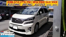 2012 TOYOTA VELLFIRE 3.5 V6 (A) ZG MODEL FACELIFT, CAREFUL OWNER, HOME THEATER, SUNROOF, PILOT SEAT, LEATHER SEAT, 18