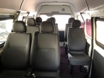 2014 TOYOTA HIACE 2.5 (M) DIESEL HIGH ROOF