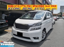 2010 TOYOTA VELLFIRE 2.4 ZP Z Platinum 2 Power Door 7 Seat Power Boot 2014 (FREE 2 YEARS WARRANTY)