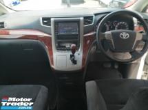 2010 TOYOTA VELLFIRE 2.4 ZP Z Platinum 2 Power Door 7 Seat Power Boot 2014 (FREE 2 YEARS WARRANTY)