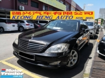 2007 MERCEDES-BENZ S-CLASS S300L Local TRUE YEAR MADE 2007 Long Base Sunroof Power Boot Vacuum Door