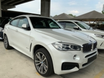 2015 BMW X6 40D M sport sunroof power boot back camera electric memory seat paddle shift push start unregistered