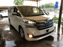 2016 TOYOTA VELLFIRE Unreg Toyota Vellfire X 8seats 360view PowerBoot 2Power Door Pre Crash Syetem 7G