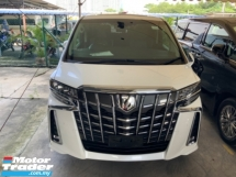 2018 TOYOTA ALPHARD 2.5 SC sunroof 2 power door pilot seat 4 camera power boot facelift lane assist unregistered