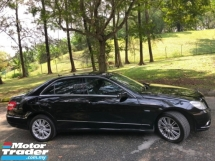 2011 MERCEDES-BENZ E-CLASS E200 CGI BlueEFCY 1.8 (A) LOCAL 1 OWNER