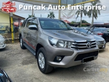 2017 TOYOTA HILUX 2017 Toyota Hilux 2.4 G Pickup Truck