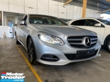 2014 MERCEDES-BENZ E-CLASS E250 W212 AVANTGARDE Un-register