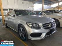 2015 MERCEDES-BENZ C-CLASS UN-REGISTER C200  AMG