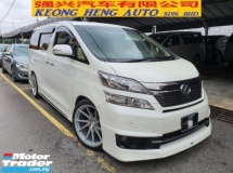 2013 TOYOTA VELLFIRE 3.5V L EDITION AWD Facelift (FREE 2 YEARS WARRANTY) Reg 2014