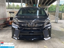 2017 TOYOTA VELLFIRE GE 2.5 GOLDEN EYE UN-REGISTER