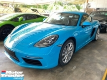 2017 PORSCHE 718 UNREGISTER PORSCHE CAYMAN 718 2.0 TURBO PCM SPORT