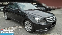 2013 MERCEDES-BENZ C-CLASS C200 CGI REG SEPT 2013 FULL SERVICE RECORD BY CYCL