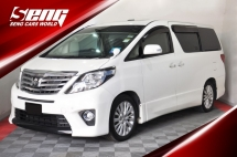 2013 TOYOTA ALPHARD 2.4 SC H/Theather S/Roof