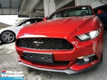 2016 FORD MUSTANG 2.3 ECO BOOST UNREG.HI SPEC.TRUE YEAR CAN PROVE.INCLUDED SST.PADDLE SHIFT.REVERSE CAM.SHAKER SOUND