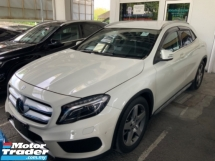 2015 MERCEDES-BENZ GLA 180 AMG sport package memory seat precrash system power boot unregistered