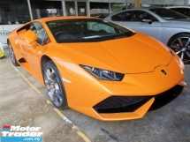 2017 LAMBORGHINI HURACAN 5.2 LP610 4 Coupe Unregister