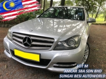 2012 MERCEDES-BENZ C-CLASS C200 CGI BLUE EFFICIENCY 1.8 AVANT (A) FACELIFT