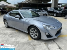 2016 TOYOTA 86 UNREGISTER 2016 TOYOTA GT86 2.0 (A) COUPE