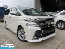 2016 TOYOTA VELLFIRE 2.5 Z WHITE LOW MILEAGE OFFER BEST UNREG