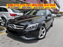 2016 MERCEDES-BENZ C-CLASS C200 W205 TRUE YEAR MADE 2016 Local Avantgade Full Service Cycle Carriage