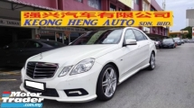 2011 MERCEDES-BENZ E-CLASS E250 CGI AMG 1.8cc (A) FREE 2 YEARS CAR WARRANTY