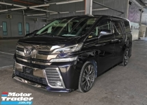 2015 TOYOTA VELLFIRE 2.5 ZG WITH FULL LEATHER & SUNROOF - JAPAN UNREG