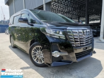 2016 TOYOTA ALPHARD 2.5 S CHEAPEST BLACK OFFER MCO SALES UNREG