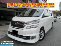 2013 TOYOTA VELLFIRE 3.5 VL New Facelift (FREE 2 YEARS WARRANTY)  Pilot Seat Modelister Kits Home Theater