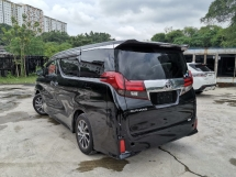 2016 TOYOTA ALPHARD 2.5 S SPEC 7 SEATER/2 POWER DOOR UNREG
