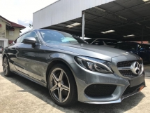 2016 MERCEDES-BENZ C-CLASS C300 2.0 AMG COUPE UK