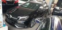 2017 MERCEDES-BENZ A-CLASS A180 AMG SPORT LINE JAPAN SPEC 50% SST DISCOUNT