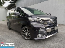 2015 TOYOTA VELLFIRE 2.5 ZG SUNROOF FULL LEATHER CHEAPEST IN TOWN UNREG