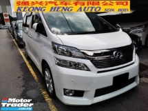 2013 TOYOTA VELLFIRE 3.5 VL (FREE 2 YEARS WARRANTY)