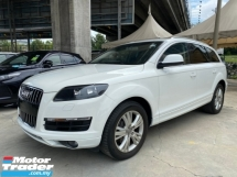 2012 AUDI Q7 3.0 DIESEL 7 SEATER UN-REGISTER
