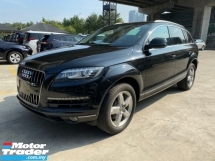 2012 AUDI Q7 3.0TFSI QUATTRO FACELIF UN-REGISTER