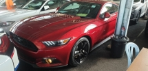 2016 FORD MUSTANG 2.3 TURBO ECO BOOST ALL TAX INCLUDE