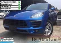 2015 PORSCHE MACAN SPICY RED & BLK INT PDLS LEATHER Porsche MACAN 2.0